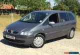 Classic 2005 VAUXHALL ZAFIRA 1.8 DESIGN 16V MPV 5 DOOR ESTATE 7 SEATS SEATER  for Sale