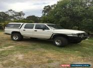 2002 Toyota Hilux dual cab style side ute 4x4 3.4L with winch, lift and arb bars for Sale