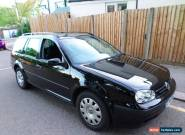 vw golf estate 1.9 diesel automatic.2004. for Sale