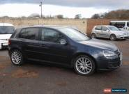 2008 VOLKSWAGEN GOLF GT SPORT TDI 170 BLUE for Sale