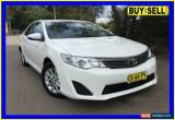 Classic 2014 Toyota Camry ASV50R Altise White Automatic 6sp A Sedan for Sale