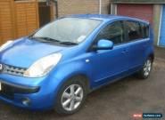 2006 NISSAN NOTE SE BLUE - 97944 miles, FSH for Sale