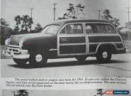 1951 Ford Meteor Country Squire Custom Deluxe  2-door Woodie Station Wagon for Sale
