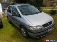 Holden ZAFIRA auto 7SEAT NON GOER for Sale
