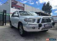 2009 Toyota Kluger GSU45R KX-S (4x4) White Automatic 5sp A Wagon for Sale