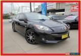 Classic 2012 Mazda 3 BL10F2 Maxx Sport Black Manual 6sp M Sedan for Sale