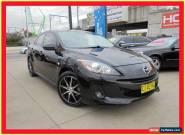 2012 Mazda 3 BL10F2 Maxx Sport Black Manual 6sp M Sedan for Sale