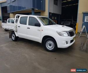 Classic 2012 Toyota Hilux KUN16R MY12 SR White Manual 5sp M for Sale
