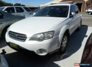 2004 Subaru Outback 2.5i Manual  for Sale