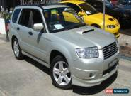 2006 Subaru Forester MY06 XT Luxury Silver Automatic 4sp A Wagon for Sale