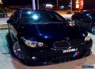 BMW RARE 2007 E60 550i FACTORY M-SPORT M5 EQUIPPED FULL OPTIONS~300kW VAL $81880 for Sale