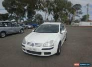2005 Volkswagen Golf 1K 1.9 TDI Comfortline White Automatic 6sp A Hatchback for Sale