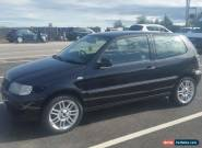 2001 VOLKSWAGEN POLO E BLACK  SPARES OR REPAIR for Sale
