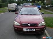 1999 VAUXHALL ASTRA CD DI 16V AUTO RED for Sale
