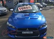 2008 Mitsubishi Lancer CJ Evolution MR Blue Automatic 6sp A Sedan for Sale