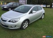 2012 VAUXHALL ASTRA 1.6 SRI 5-DOOR SILVER for Sale