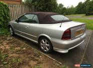 VAUXHALL ASTRA 1.8 16V COUPE CONVERTIBLE CABRIOLET SPARES REPAIRS NEEDS ENGINE for Sale