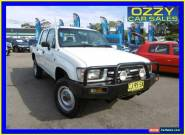 1999 Toyota Hilux LN167R (4x4) White Manual 5sp M Dual Cab Pick-up for Sale