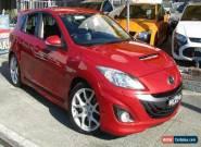 2010 Mazda 3 BL MPS Luxury Red Manual 6sp M Hatchback for Sale