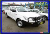 Classic 2013 Toyota Hilux GGN15R MY12 SR Glacier White Automatic 5sp A Extracab for Sale