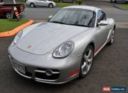 2006 Porsche Cayman S Silver Coupe for Sale