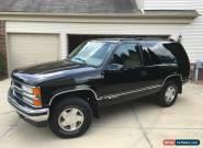 1997 Chevrolet Tahoe 2 Door for Sale