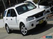 2005 Ford Territory SX TS (4x4) White Automatic 4sp A Wagon for Sale