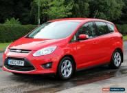 Ford C-MAX 1.6 TDCi Zetec 5 Door DIESEL MANUAL 2013/2 for Sale