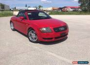 Audi: TT Quattro for Sale
