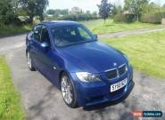 2008 BMW 330d M-SPORT Saloon with steering wheel paddles for Sale