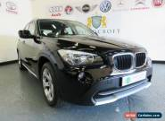 BMW X1 2.0 XDRIVE20D SE 2010 Diesel Manual in Black for Sale