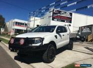 2012 Ford Ranger PX XL 3.2 (4x4) White Manual 6sp M Dual Cab Utility for Sale