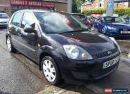 FORD FIESTA STYLE 16V, Black, Manual, Petrol, 2008  for Sale