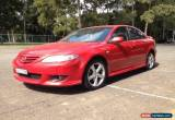 Classic 2004 Mazda 6 GG Luxury Sports Red Manual 5sp M Hatchback for Sale