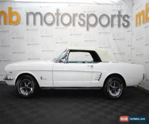 Classic 1966 Ford Mustang for Sale