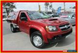 Classic 2008 Holden Colorado RC DX Red Manual 5sp M 2D CAB CHASSIS for Sale
