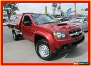 2008 Holden Colorado RC DX Red Manual 5sp M 2D CAB CHASSIS for Sale