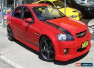 2008 Holden Commodore VE MY09.5 SS Red Manual 6sp M Sedan for Sale
