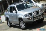 Classic 2013 Volkswagen Amarok 2H MY13 TDI400 Highline (4x4) Silver Manual 6sp M for Sale