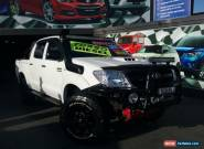 2006 Toyota Hilux KUN26R SR5 (4x4) White Manual 5sp M Dual Cab Chassis for Sale