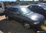Black 2000 ford escort finesse mk6 1.6 zetec for Sale