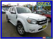 2011 Ford Ranger PK Wildtrak (4x4) White Automatic 5sp A Dual Cab Pick-up for Sale