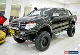 Classic 2012 Ford Ranger PX XLT 3.2 (4x4) Black Automatic 6sp A Dual Cab Utility for Sale