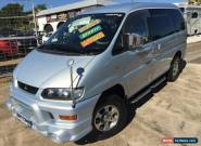 2002 Mitsubishi Delica CHAMONIX (SPACEGEAR) Platinum Silver Metallic Automatic for Sale