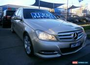 2012 Mercedes-Benz C200 W204 MY12 CDI BE Gold Automatic 7sp A Sedan for Sale