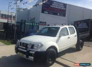 2006 Nissan Navara D40 ST-X (4x4) White Manual 6sp M Dual Cab Pick-up for Sale
