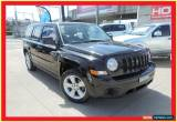 Classic 2012 Jeep Patriot MK MY2012 Sport Black Manual 5sp M Wagon for Sale