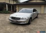 Mercedes Benz S320CDI Car Luxury Sedan Diesel S320 CDI Motor Vehicle Merc for Sale