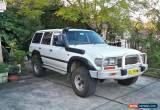 Classic Toyota Landcruiser 80 series turbo diesel for Sale