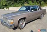 Classic 1984 Cadillac DeVille for Sale
